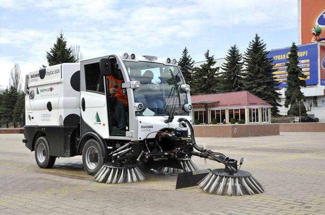 Теперь такие машины появились и в Приморье.