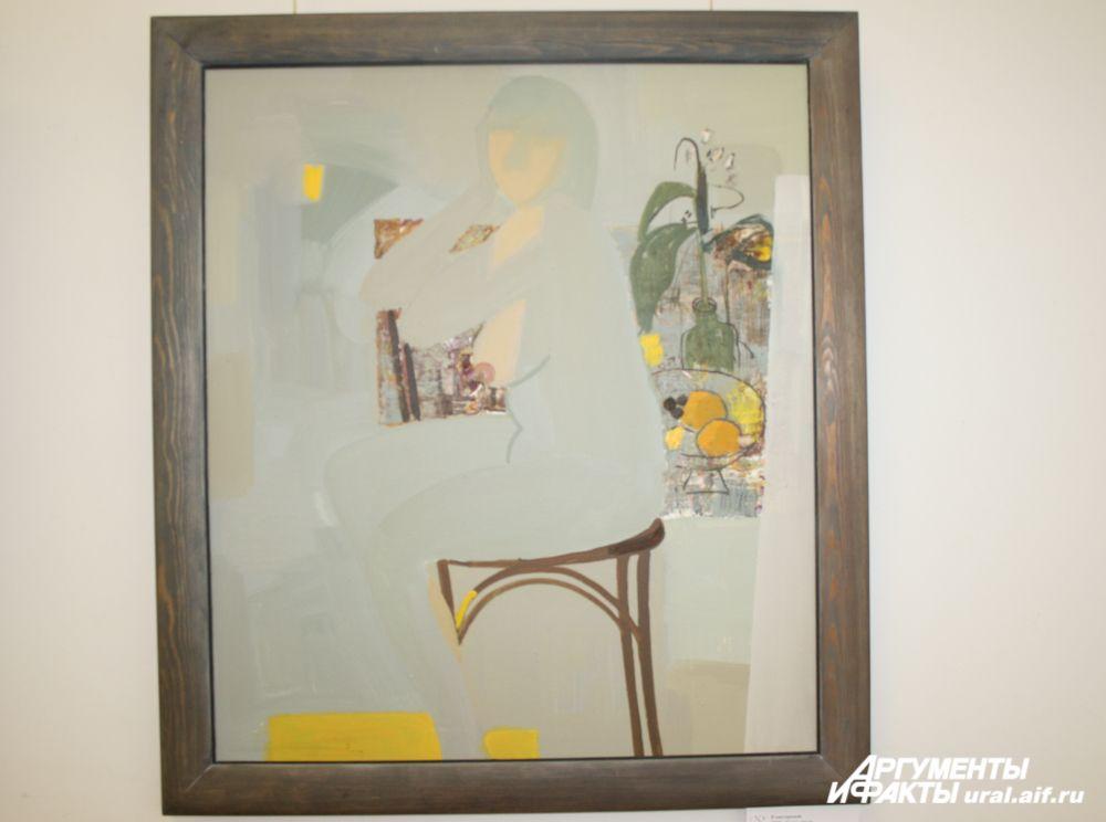 «В мастерской», 2008 г.