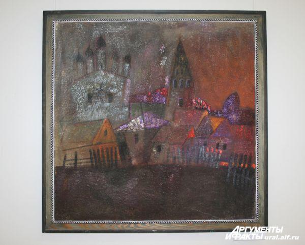 «В г. Гороховце. Вечер», 2011 г.