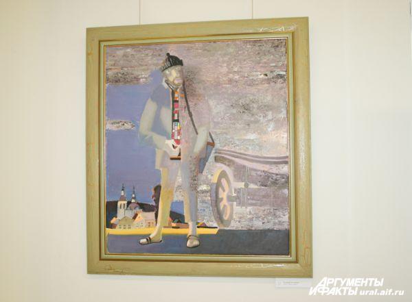 «Художник на пленэре», 2012 г.