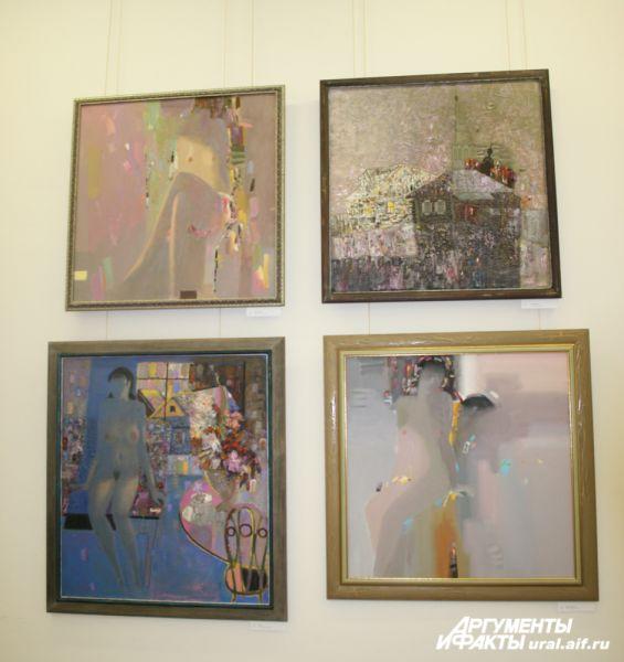 Ускользающая женская красота – важная тема в работах художника А. Новика