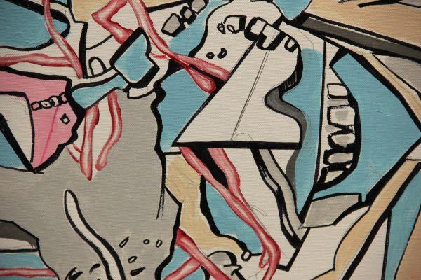 Выставка «Призрак абстракционизма» Вадима Бондеро