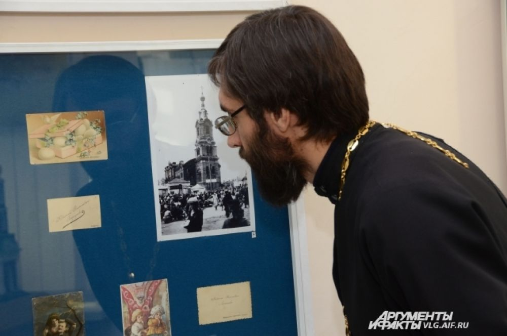 На выставке представлены экспонаты по истории Русской православной церкви в Волгоградской области.