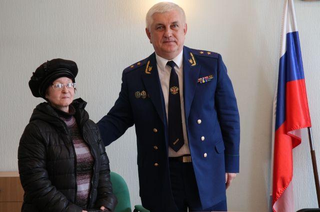 Светлана Щербакова и Александр Войтович