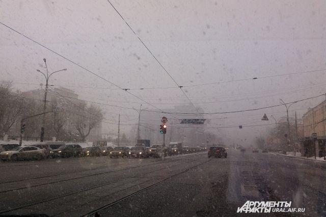 Синоптики на этой неделе обещают Среднему Уралу мокрый снег