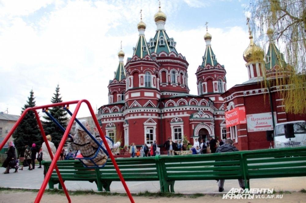 По традиции, главные торжества прошли в Казанском соборе.