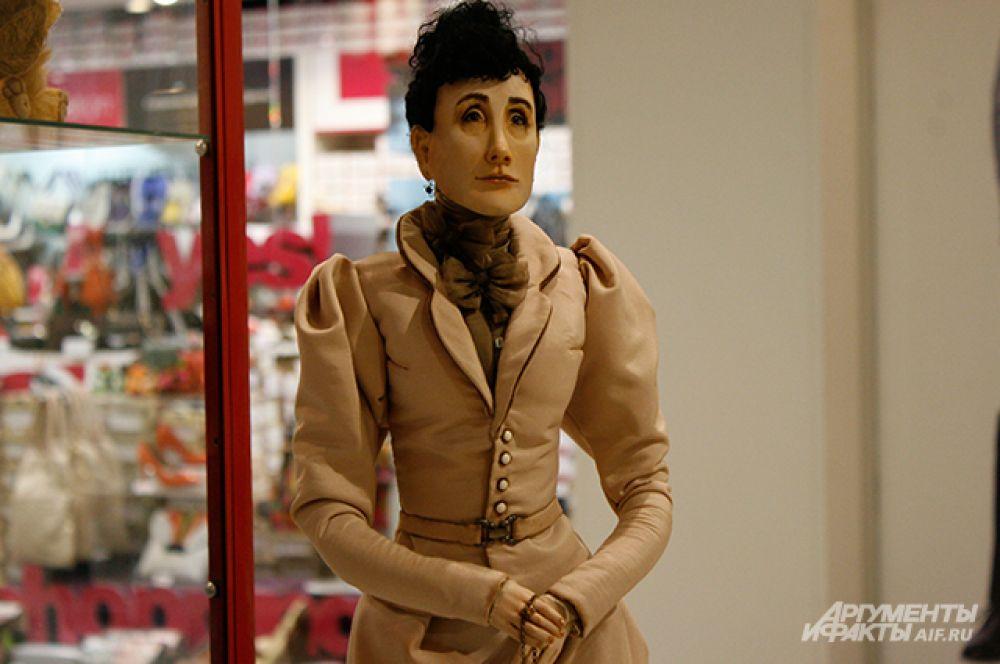 Кукольные портреты членов семьи династии Ольденбургских тоже были представлены на выставке