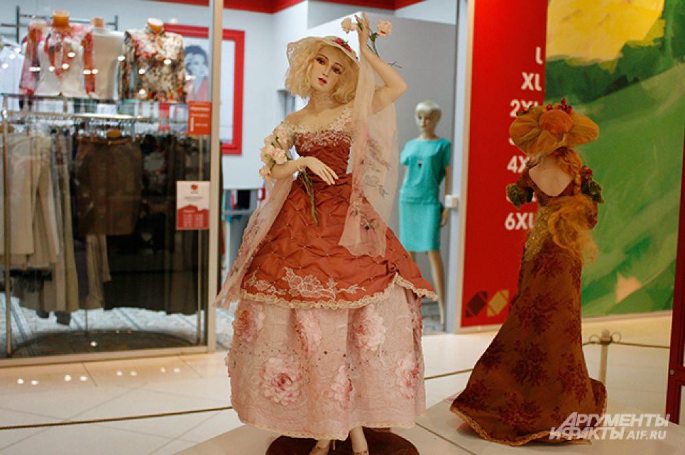 У каждой куклы уникальный образ и характер.