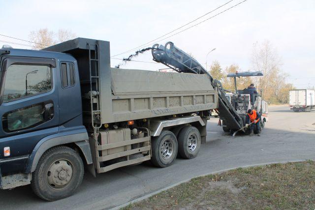 Дорожные работы в Хабаровске
