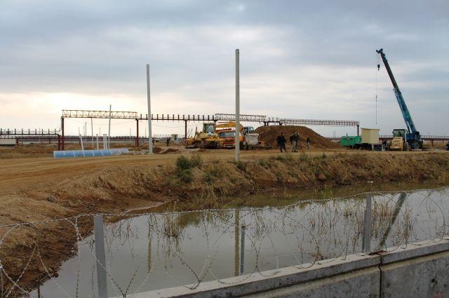 Стройплощадка под Хабаровском