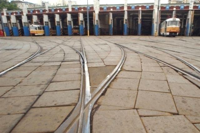 В Омске отремонтируют трамвайные пути.