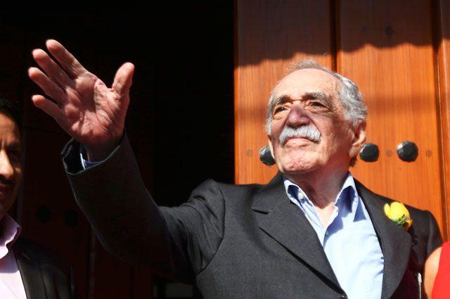 Габриэль Гарсиа Маркес. Март 2014 года.