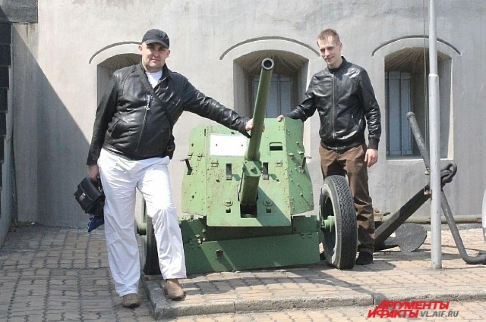 Фото на память. Туристы из Хабаровска.