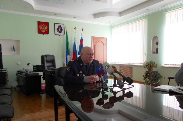 Начальник хабаровского краевого УФСИН Александр Кудрин