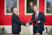Виктор Назаров и Сергей Собянин подписали соглашение о сотрудничестве.