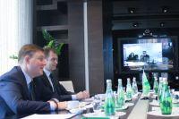 Андрей Турчак на встрече с Дмитрием Курдюковым