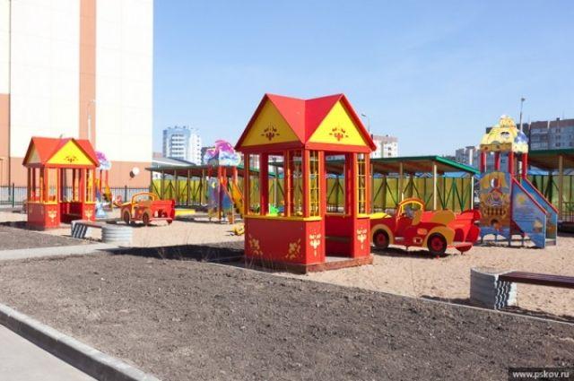 В Екатеринбурге строят новый детский сад на 200 мест