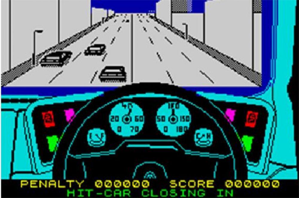 Гоночная аркада Turbo Esprit в 1986 году стала очередным прорывом в видеоиграх. На фоне конкурентов она выделялась продвинутой детализацией графики и продуманной системой локаций - это была первая игра, в которой можно было в свободном режиме кататься по городу без какой-либо привязки к сюжету.