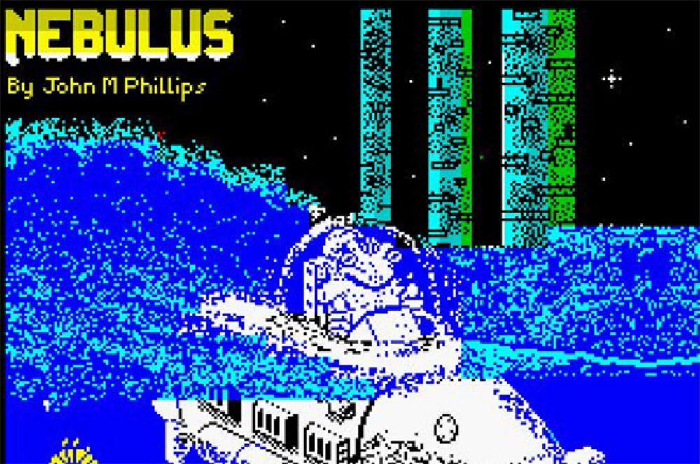 Nebulus является ещё одним нашумевшим платформером. По сюжету игры небольшому зелёному созданию Пого необходимо уничтожить несколько подводных башен. Особенность геймплея Nebulus заключается в том, что независимо от действий игрока Пого всегда находится в центре экрана, а на перемещается на дисплее только локация.