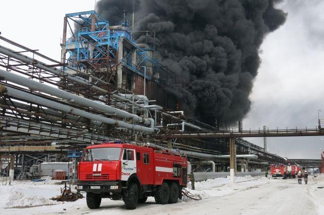 Взрыв на омском предприятии произошёл 6 марта.