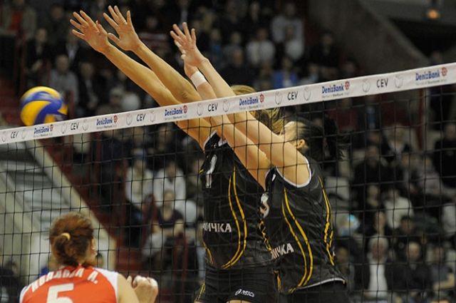 «Омичка» обыграла соперниц в четвертьфинале ЧР-2014.