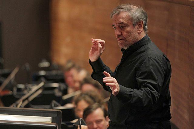 Валерий Гергиев дал концерт в Омске.