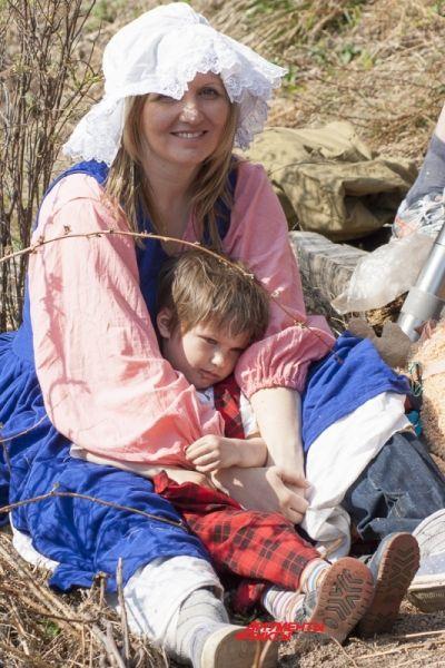 Зритель Катерина с ребёнком.