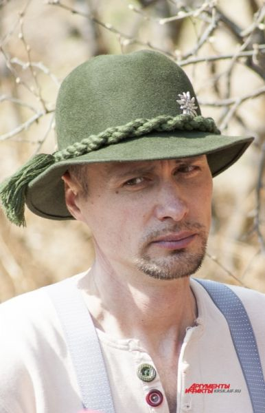 Участник Алексей Сикилинда.