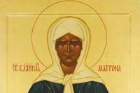 Икона Матроны Московской.