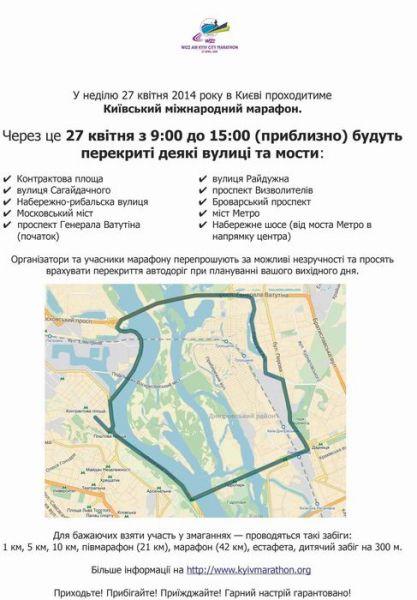 Киевский городской марафон