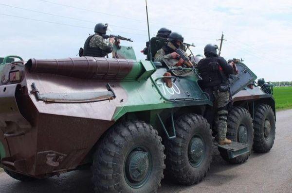 Антитеррористическая операция в Славянске