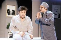 Сергей Белоголовцев в спектакле «Апокалипсис для флейты»