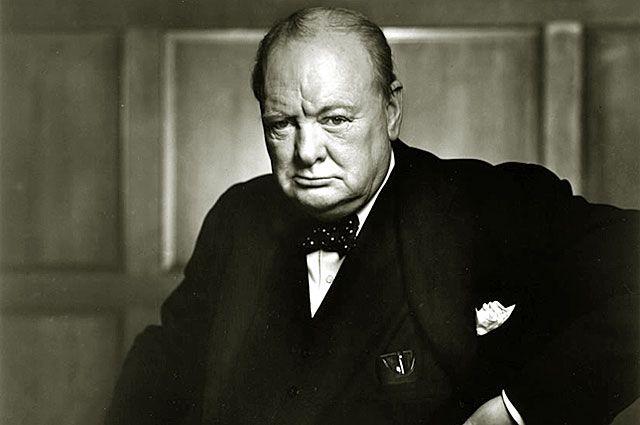Уинстон Черчилль. Декабрь 1941 года.
