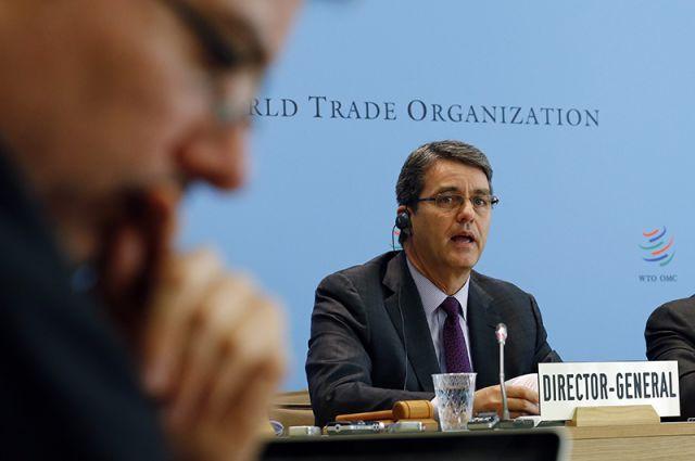 Генеральный директор ВТО Роберту Карвалью ди Азеведу.