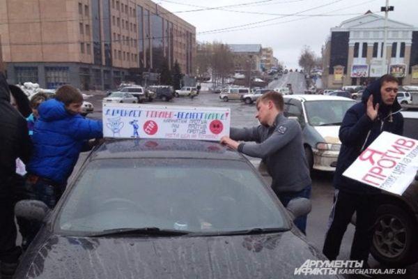 Апрельское повышение цен на бензин задавало тон экономической и политической жизни Камчатки в течение всей минувшей недели.