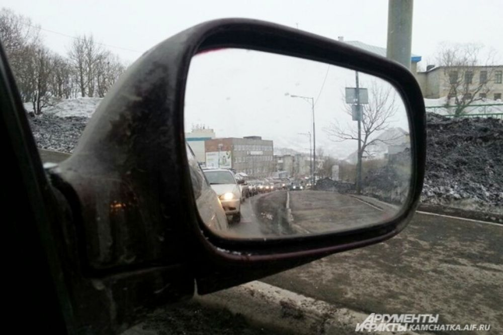 Автопробег в Петропавловске.