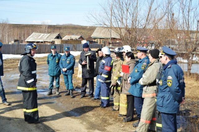 Рейд сотрудников пожарного надзора