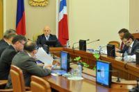 Заседание Правительства под руководством Виктора Назарова.