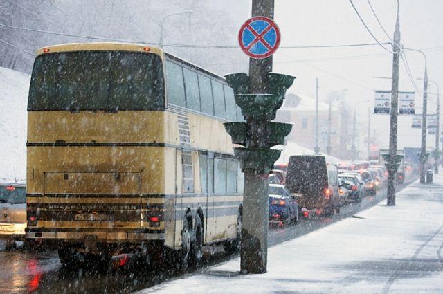 Все междугородние автобусы из Челябинска отменены из-за метели