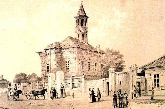 Первая Соборная мечеть в селе Маскара
