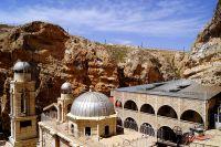 Храм в сирийском городе Маалюля.