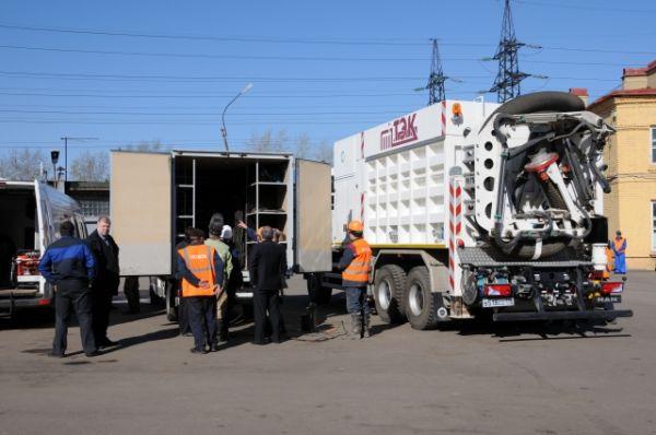 Каждая машина в транспортном филиале «ТЭК СПб»  многофункциональна.