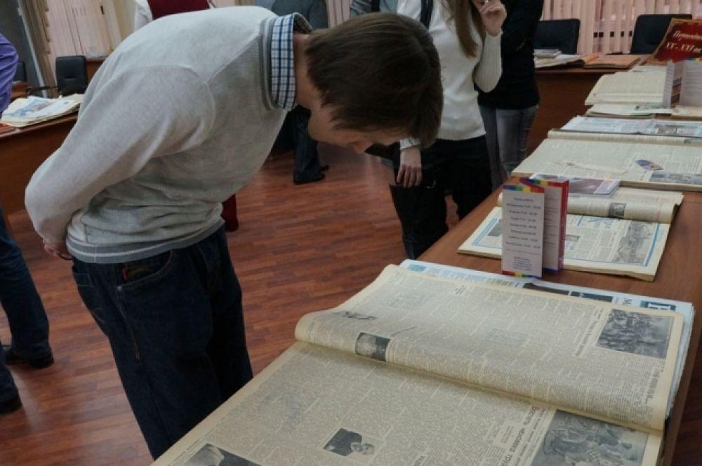 Газеты - голоса из прошлого, рассказывающие о том, чем жили прошлые поколения. В библиотеке можно легко найти как первые оренбургские газеты, так и современную периодику.