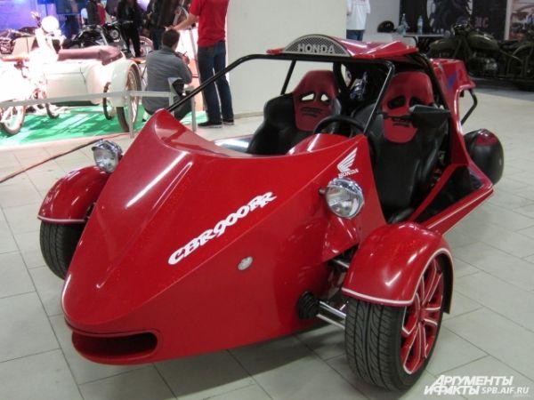 Трицикл на базе Honda
