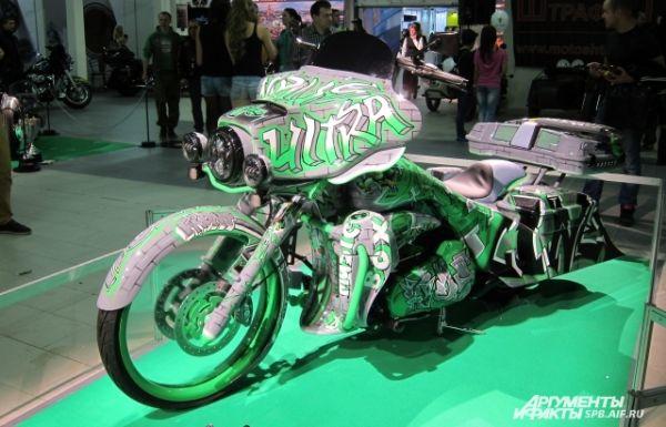 Кастом на базе Harley-Davidson