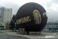 Памятник пришлось зафиксировать