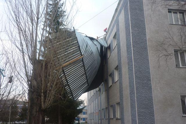 Здание администрации Кочковского района.