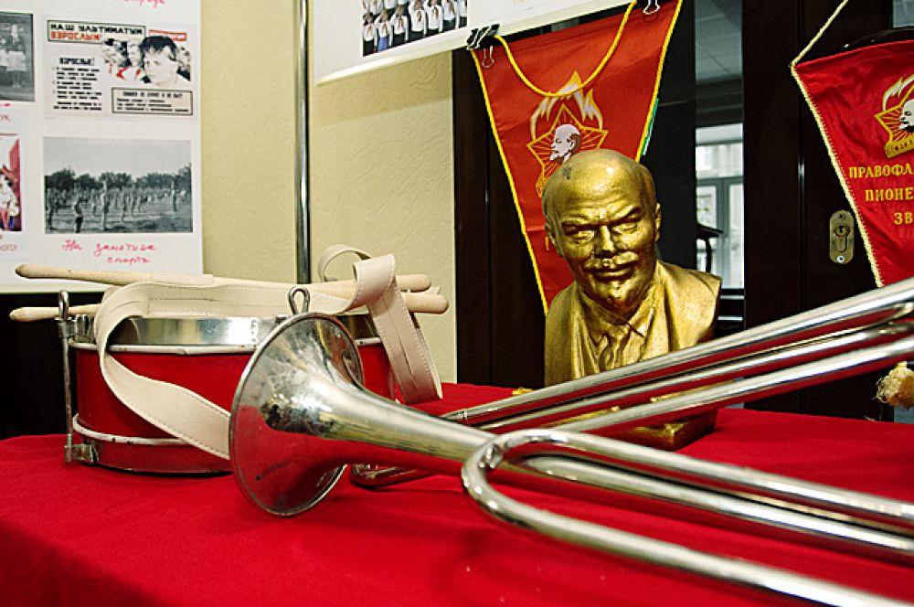 Экспозиция, погрузившая посетителей в эпоху СССР.
