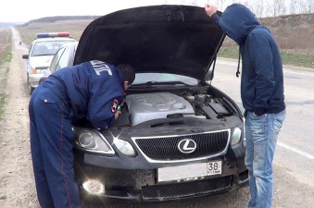 Автомобилю-двойнику придется пройти несколько полицейских экспертиз.