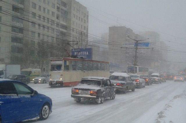 В Челябинске в понедельник отменено несколько трамвайных маршрутов